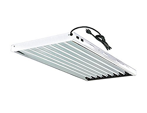 T5 Grow Light 8 lamp 54W Fluorescent HO Bulbs Included for Indoor Horticulture Gardening T5 Grow Lights Fixtures