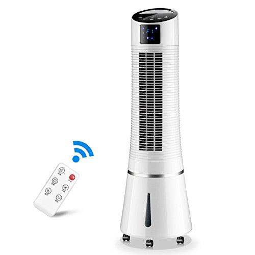 GX&XD Compact portable Single-cold Air conditioner fan,Evaporative coolers With remote control 4 caster wheels Air cooler dorm room Air conditioner cooling fan-A