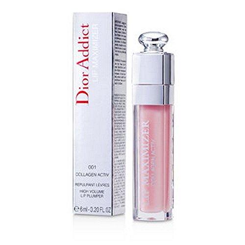 Christian Dior Addict Lip Maximizer (Collagen Activ Lipgloss) 6ml/0.2oz #001 by Little PD
