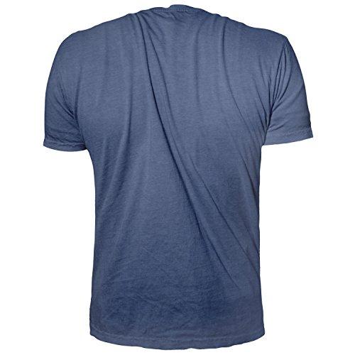 """Phantom Athletics T-Shirt """"Team"""" - Blue - Sport Freizeit Gym Lifestyle Shirt Herren"""