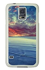 Baltic sea PC Case Cover for Samsung S5 and Samsung Galaxy S5 White