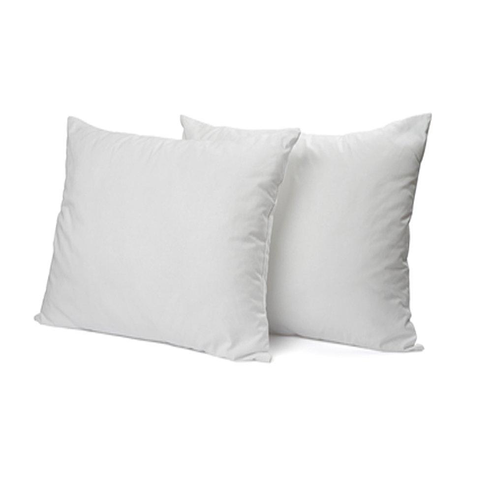 DAGOSTINO HOME - Pack de 2 almohadas de Fibra Supersuave lavables 40x60 cm. (Todas Las Medidas). Tratamiento Aloe Vera, firmeza Media-Baja, Altura 16 ...