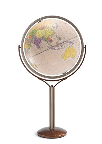 Zoffoli Globes USA Magellano Floor Globe, 24-Inch, Antique Ocean by Zoffoli Globes USA