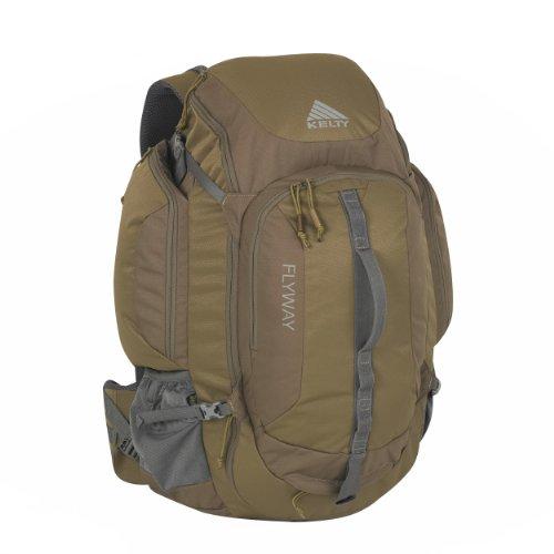 Kelty Flyway 43-Liter Backpack, Caper (Brown), Outdoor Stuffs