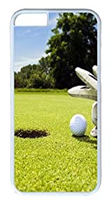 Pew Golf Ball Custom iphone 6 plus 5.5inch Cases Cover Polycarbonate White hjbrhga1544