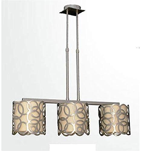 Lámpara forja de Techo Moderna Círculos - Oro, Lámpara de 2 ...