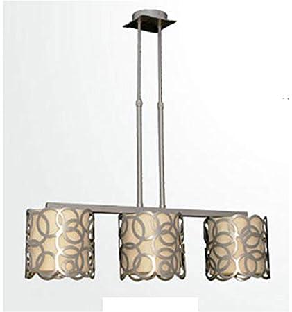 Lámpara forja de Techo Moderna Círculos - Oro, Lámpara de 3 ...