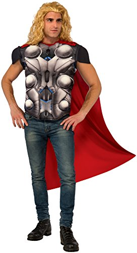 Rubie's Men's Avengers 2 Age of Ultron Thor Muscle Chest Top and Cape, Standard