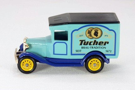 lledo-days-gone-dg132-model-a-van-tucher-blue