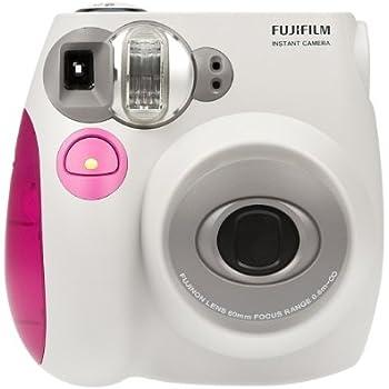 Fujifilm INSTAX MINI Film Camera (Pink Trim) (OLD MODEL)