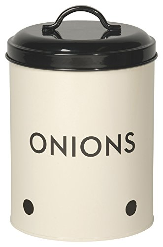 Now Designs Onion Tin, Ivory