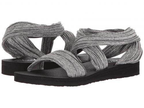 踊り子顕著ぼんやりしたSKECHERS(スケッチャーズ) レディース 女性用 シューズ 靴 サンダル Meditation - Still Sky - Gray [並行輸入品]