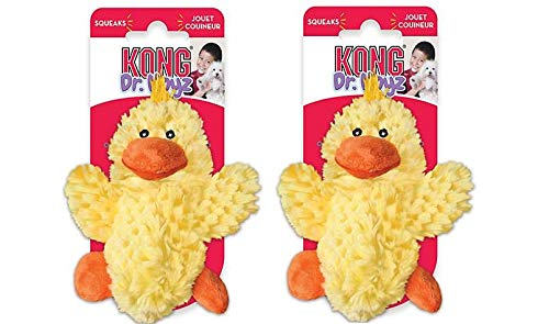 KONG Dr. Noys' Low Stuffing Squaker Dog Toy (Duck, 2 - SM)