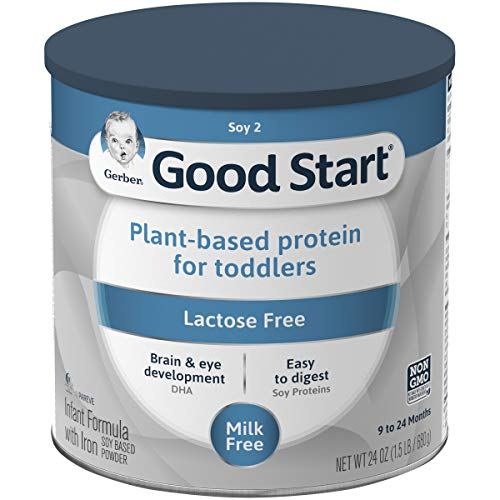 Gerber Good Start Soy 2 Plant-based Protein For Toddlers, Lactose Free, 24 Ounces