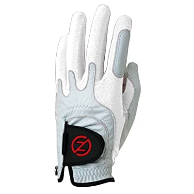 Zero Friction Men's Cabretta Premium Leather Golf Gloves, Universal Fit One Size