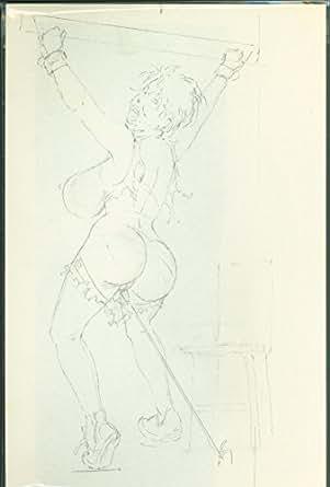 Tom Sutton As Dementia Bondage Torture Pencil Sketch