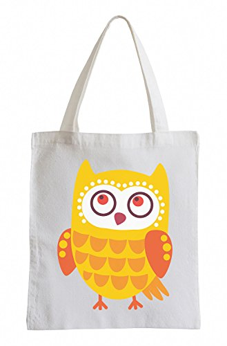 Raxxpurl Dolce Owl Fun sacchetto di iuta