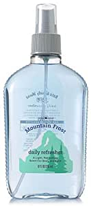 Bath & Body Works Men Mountain Frost Daily Refresher Splash 8 fl oz (236 ml)