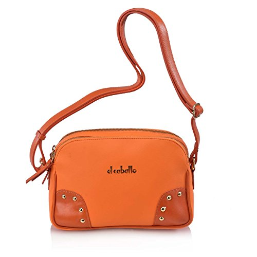 unica talla main au femme Sac Orange à pour 364 orange porté CABALLO EL dos 1024 qT6AnO