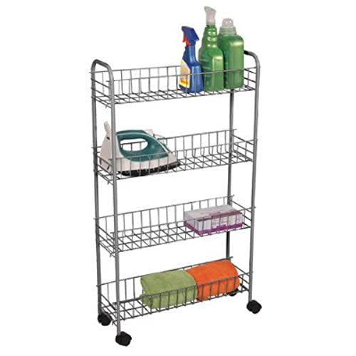 Rolling Tire Storage Rack >> Rolling Pantry Storage Carts: Amazon.com