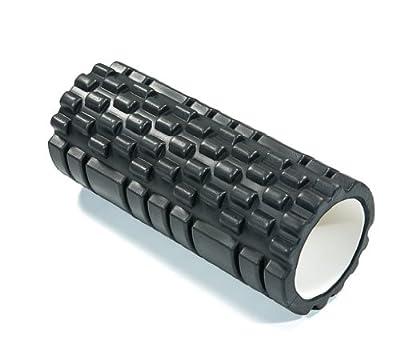 Reload Training Black Ridged Trigger Point Deep Tissue massage Crossfit Foam Roller by Reload Training