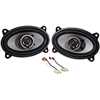 Jeep Wrangler Yj 87-95 Crunch 250w 4 x 6 Front Factory Speaker Replacement Kit