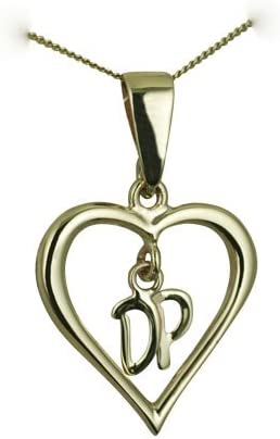 9ct YELLOW GOLD PENDANT CHAIN LOOP BAIL LARGE