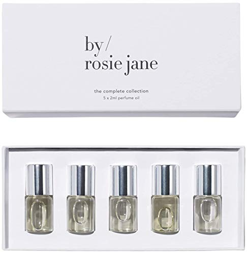 By Rosie Jane Seasonal Perfume Oil Collection - Essential Everyday Fragrance Sample Set, Scents for Everyone (5X 2 Milliliters)