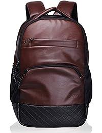 Genuine Leather Backpack Laptop Bag Travel Rucksack Schoolbag Shoulder Daypack for Men