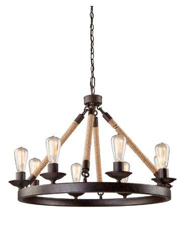 Artcraft Lighting Danbury 8-Light Chandelier