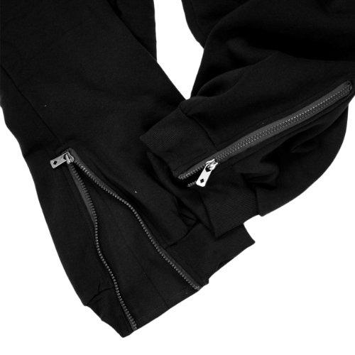 Survêtement Homme Noir Pantalon Pour Lavecchia Taille Sport Bas Grande Jogging xwHqICnSZU