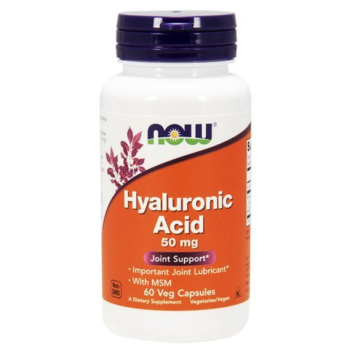 NOW Hyaluronic Acid MSM Capsules