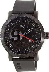 Puma Men's PU103851002 Black Rubber Quartz Watch