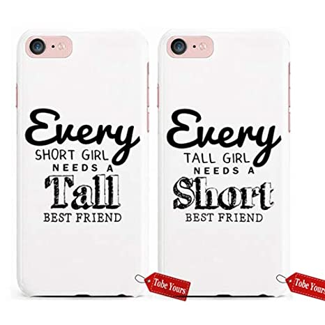 Amazon.com: Tobe Yours 3D Phone Case Sisters Matching Every ...