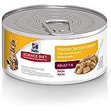 Hill's Science Diet Wet Cat Food, Adult, Tender Chicken Dinner, 5.5 oz, 24-pack