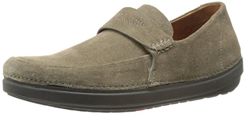Fitflop Hombres Flex Loafer Suede Slip-on Loafer Bungee Cord