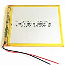 FidgetGear 3.7V 1500mAh LiPo Rechargeable Battery Li ion Cells for Mobile Phone PDA 305567