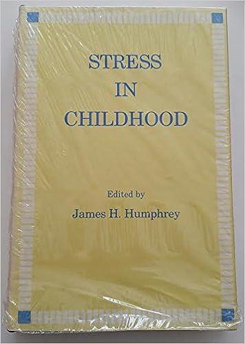 Amazon com: Stress in Childhood (Ams Studies in Modern