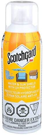 Scotchgard Water And Sun Shield with UV Protector, 297 Grams, UV and Water Repellent Spray