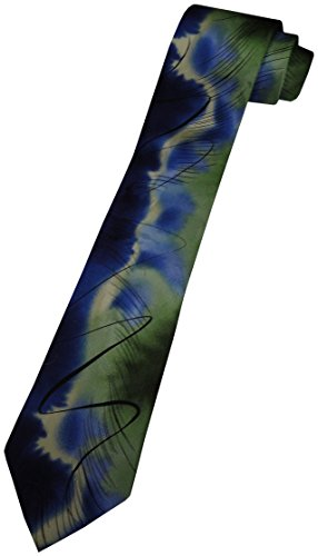 Men's J. Jerry Garcia Neck Tie Collection Fifty-eight Emerging Elephant XL EXTRA LONG ()