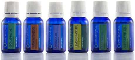 Aromatherapy - Top 6 Certfied Organic Essential Oils - 100% Pure Natural - Pack of 6 (15 ML)
