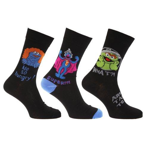 3 Pack Design Socks - 3