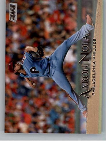 (2019 Topps Stadium Club #152 Aaron Nola Philadelphia Phillies Baseball Card)