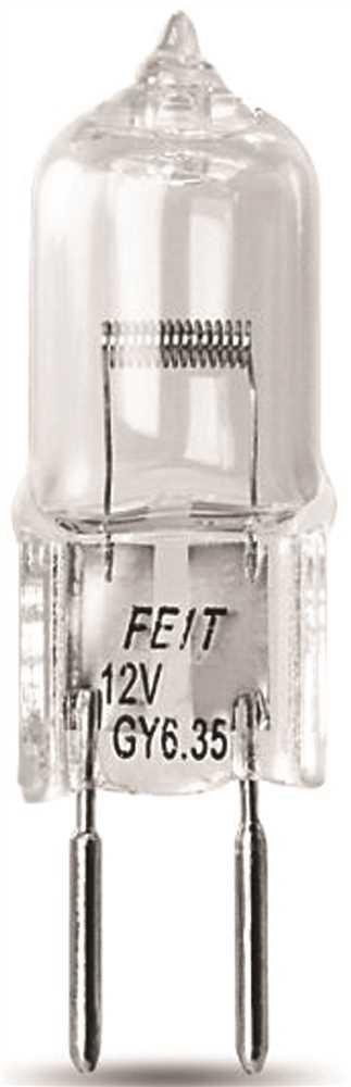 Feit Electric Q50T4 50 Watt Halogen T4 Bulb