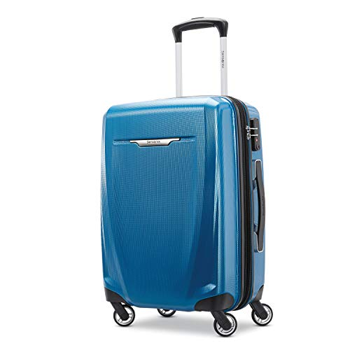 (Samsonite Carry-On, Blue/Navy)