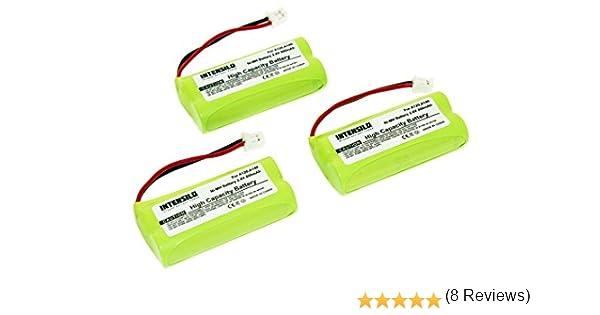 INTENSILO 3X NiMH baterías 800mAh (2.4V) para inalámbrico Fijo teléfono Siemens Gigaset AL110, AL110 Duo, AL110 Trio, AL110a y V30145-K1310-X359.: Amazon.es: Electrónica