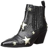 Best Betsey Johnson Ankle Boots - Betsey Johnson Women's Izak Ankle Boot, Black/Multi, 8.5 Review
