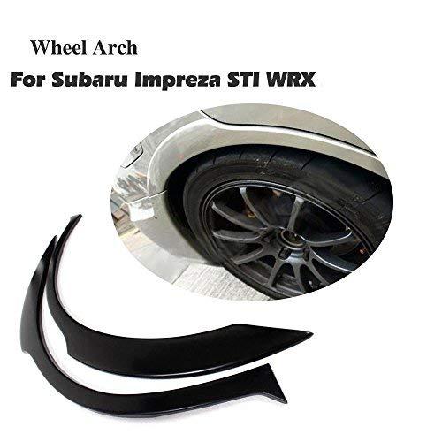 (JC SPORTLINE Rear Wheel Arch Fender Flares fits Subaru Impreza WRX-STI 2002-2007)