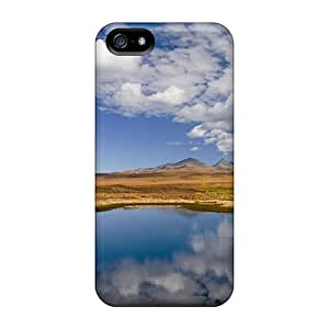New Style SashaankLobo Hard Cases Covers For Iphone 5/5s- Reflections Of Clouds