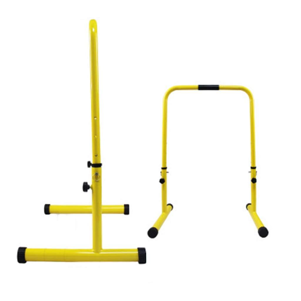 ホーム平行棒棒を引き上げるフィットネス機器体操バーディップバーディップスタンドバーを押し上げるバー多機能運動器具 (Color : Orange, Size : 50x71x101cm) 50x71x101cm Orange B07Q1242SC